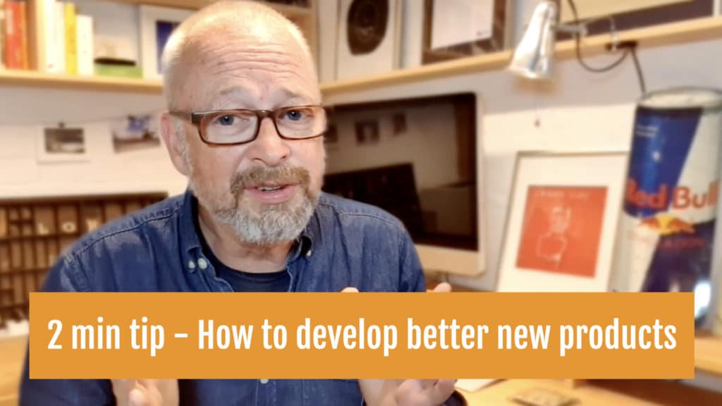 How to develop better new products and services cover.001